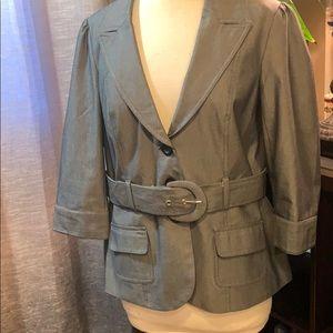 In excellent condition grey blazer XL